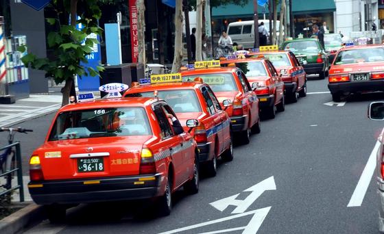 taxi nhat ban